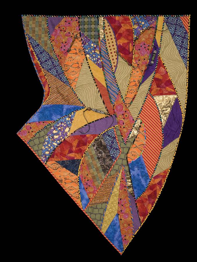 fiber art quilt by Cynthia Lockhart
