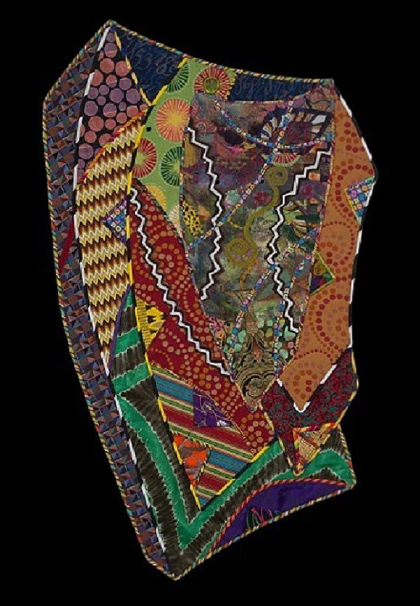 African American art quilt by Cynthia Lockhart