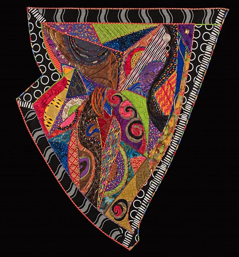 fiber art quilt