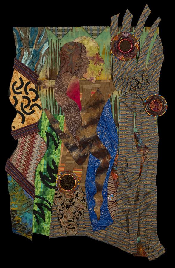 art quilt by Cynthia Lockhart
